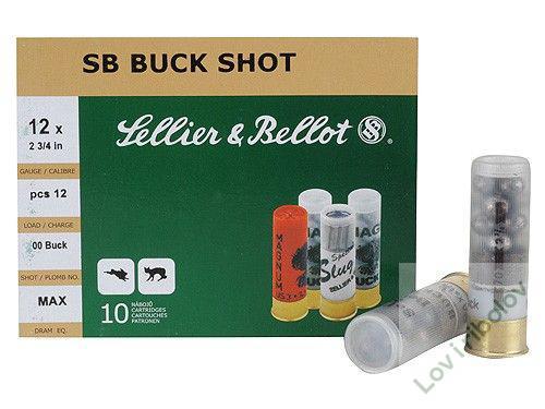 Lovački patron Sellier&Bellot SB BUCKSHOT 12/70