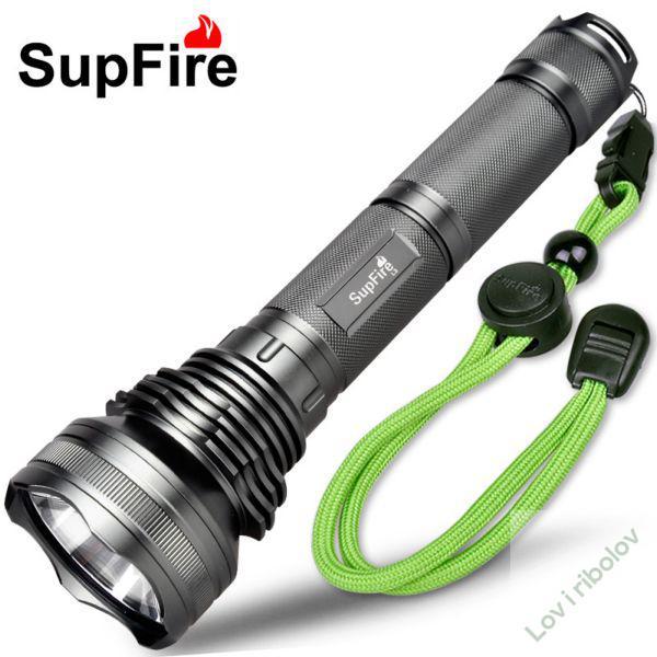 Baterijska lampa Supfire L3 set