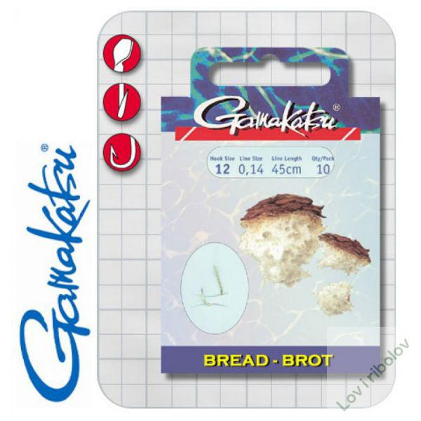 Vezane udice Gamakatsu BKS-2210G Bread 45cm