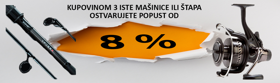 popust 8%